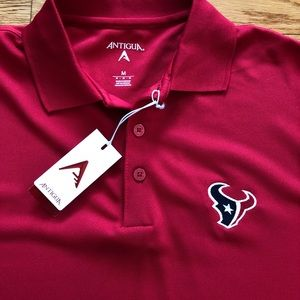 fd94d67c2 Antigua Shirts - NFL Houston Texans Men s Polo M NWT